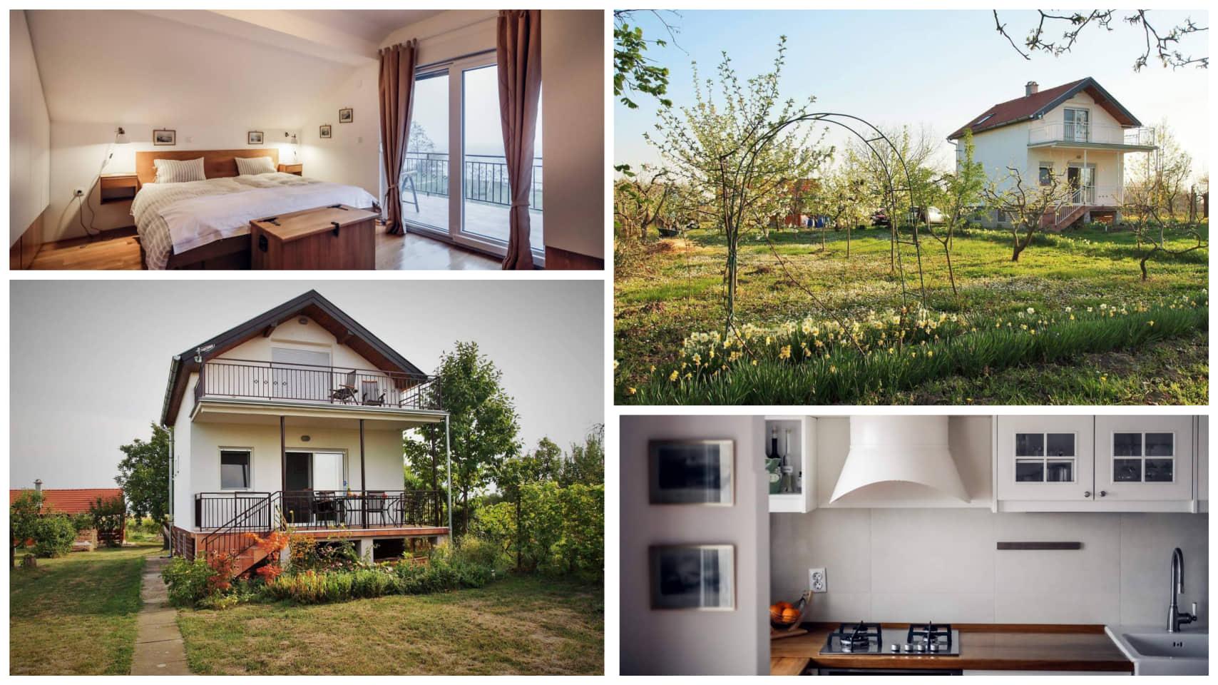 """Na visoravni iznad rijeke Dunav pronašao se savršeni djelić prirode koji će probuditi Vaša osjetila - ruralna kuća za odmor """"Veranda"""""""