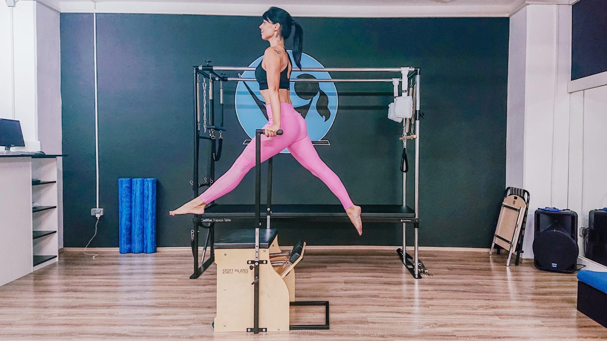 Jennifer Glumac otkriva prednosti Stability Chair sprave za pilates
