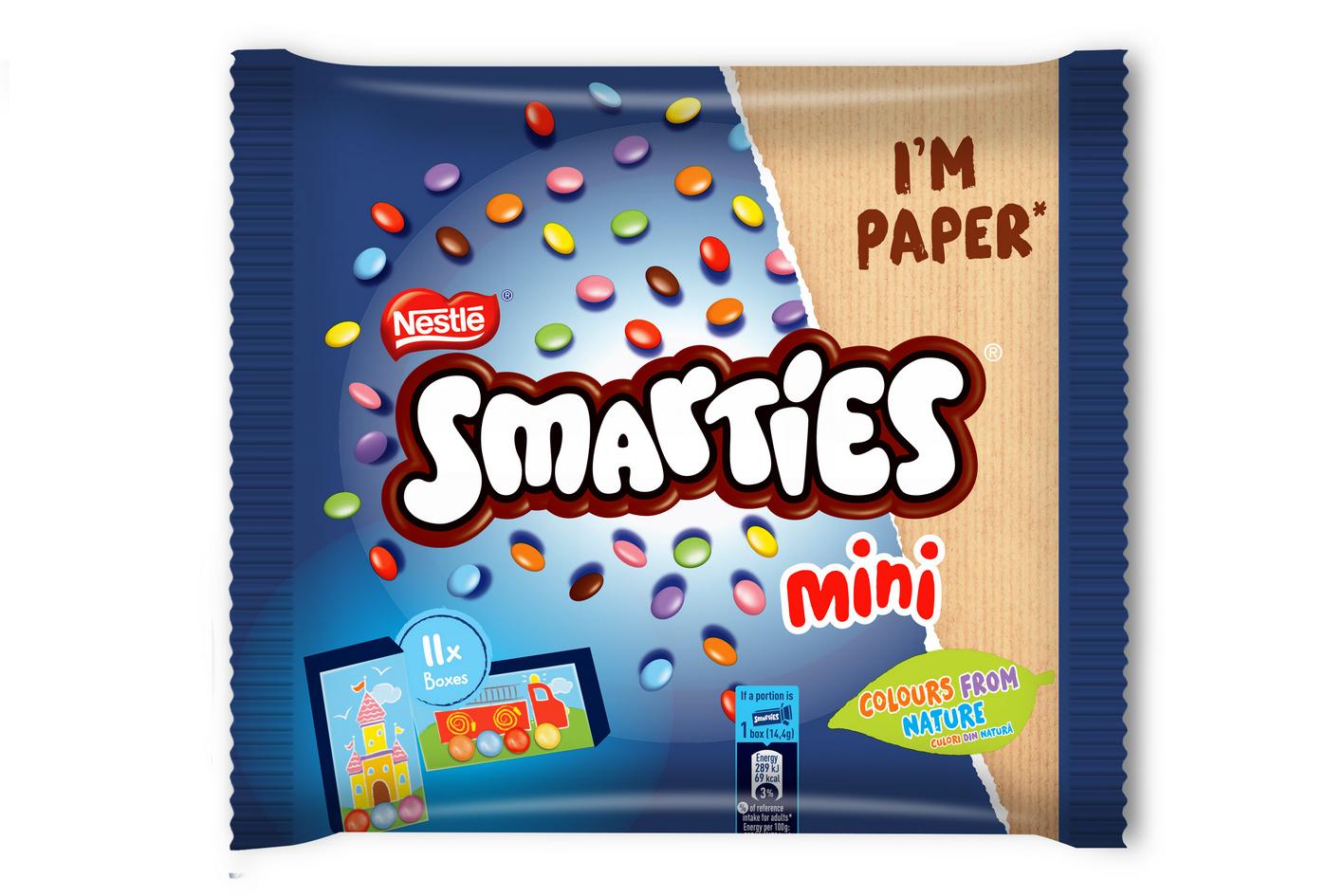 SMARTIES® – globalno transformira ambalažu proizvoda u reciklabilni papir