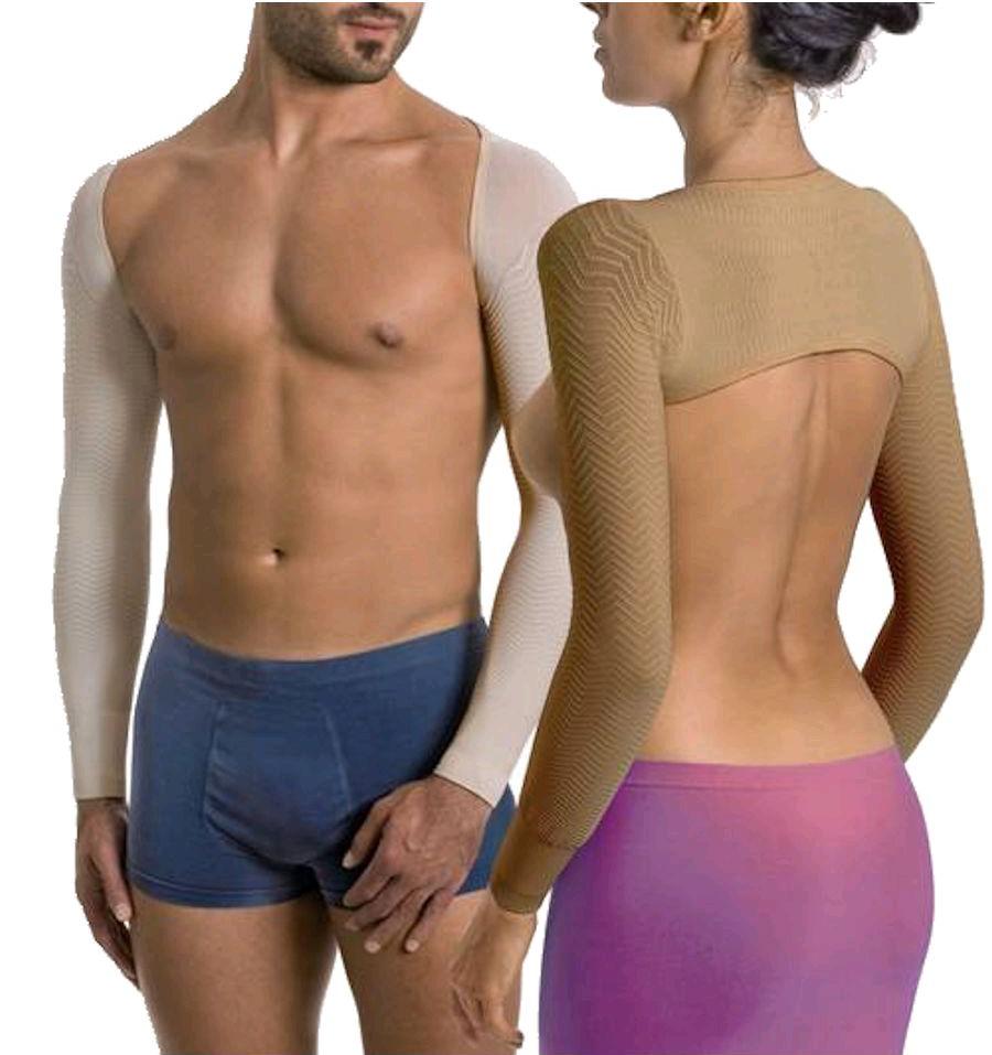 Recite zbogom 'leptirićima' na rukama- stigli su kompresivni rukavi Solidea Silver Wave Slimming Sleeves