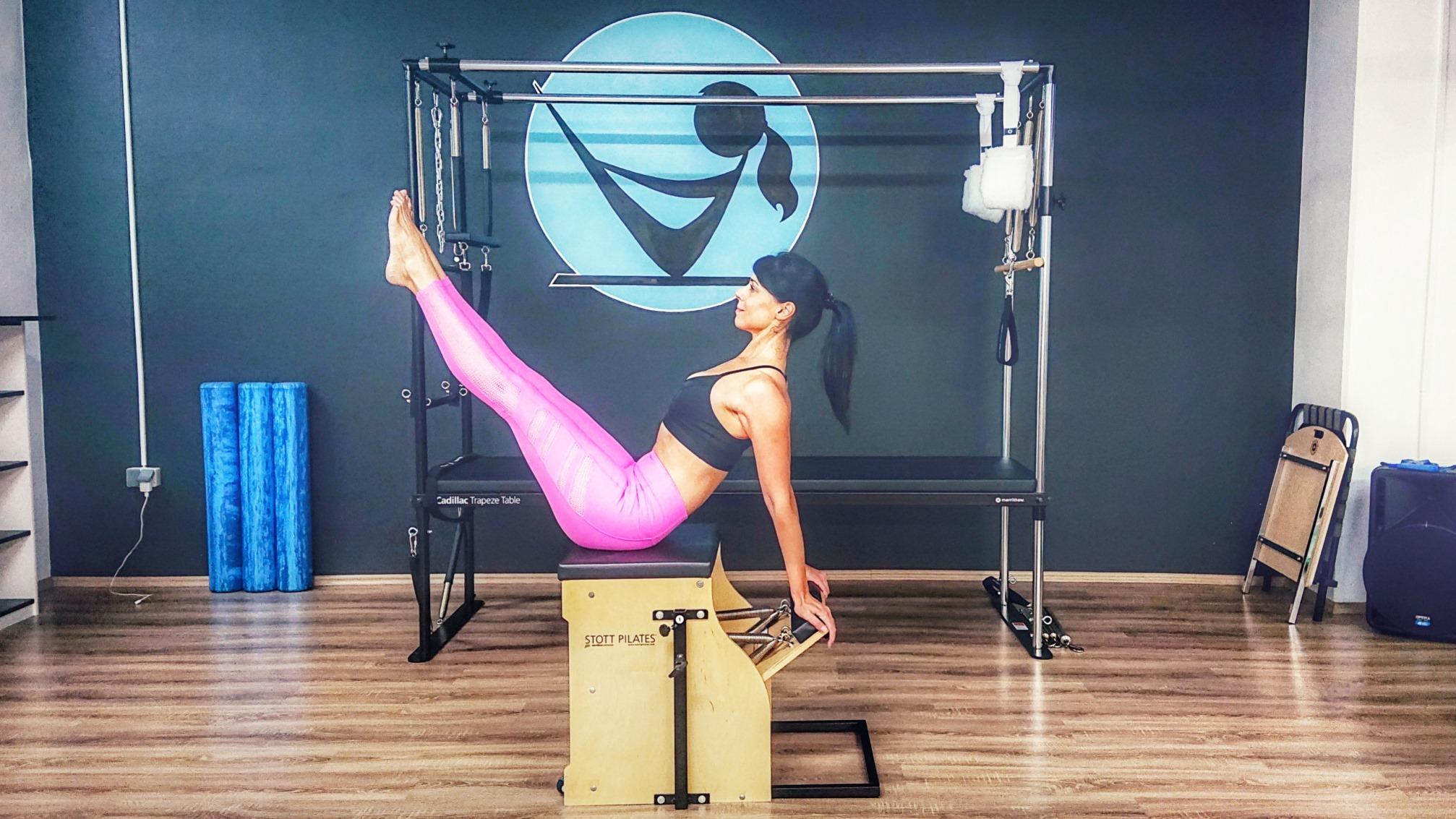 Više o pilates spravi Stability chair otkriva nam Jennifer Glumac