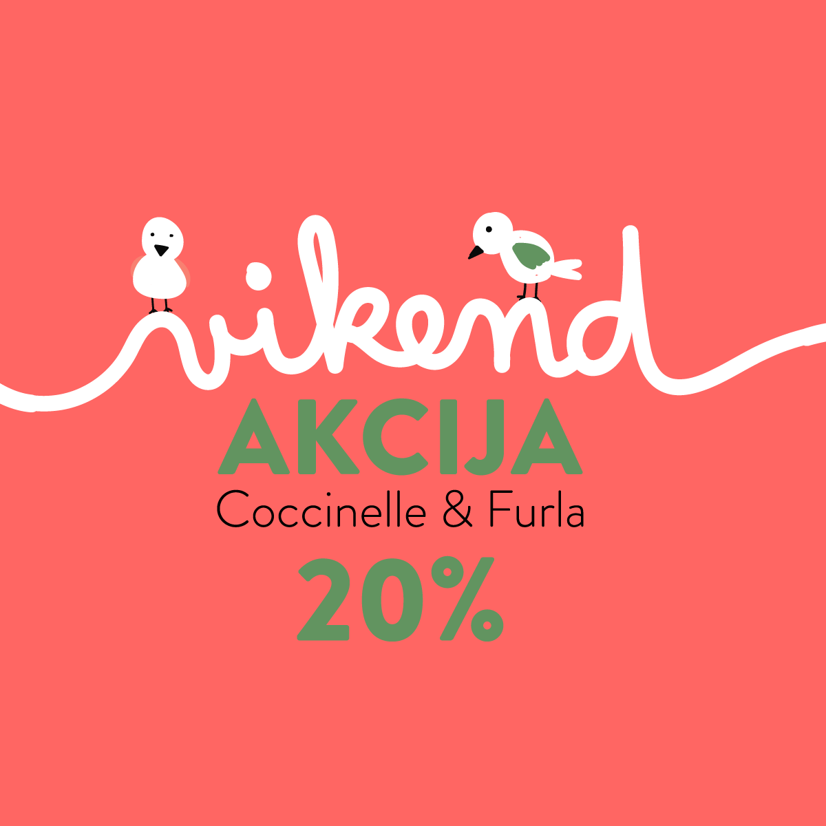 Vikend akcija -20% popusta na Coccinelle i Furla kolekcije u trgovini Karla