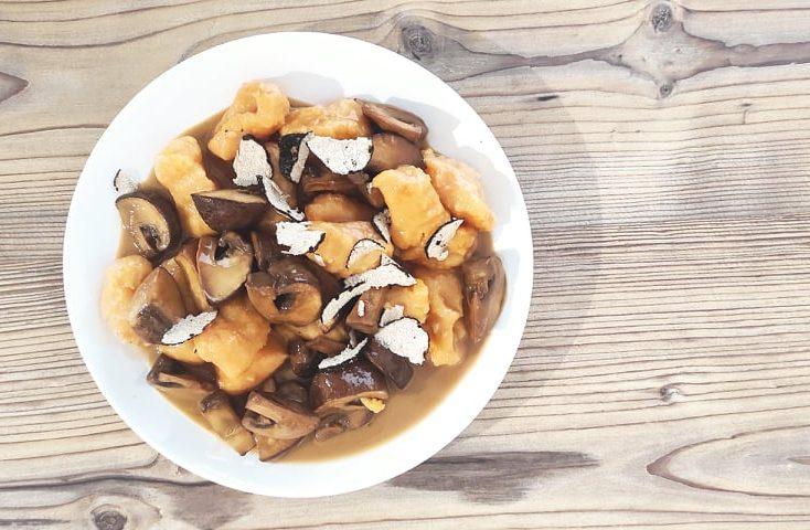 Extravagant chef: njoki od batata u umaku od gljiva