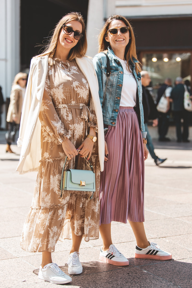 Extravagant streetyle: modni zov proljeća