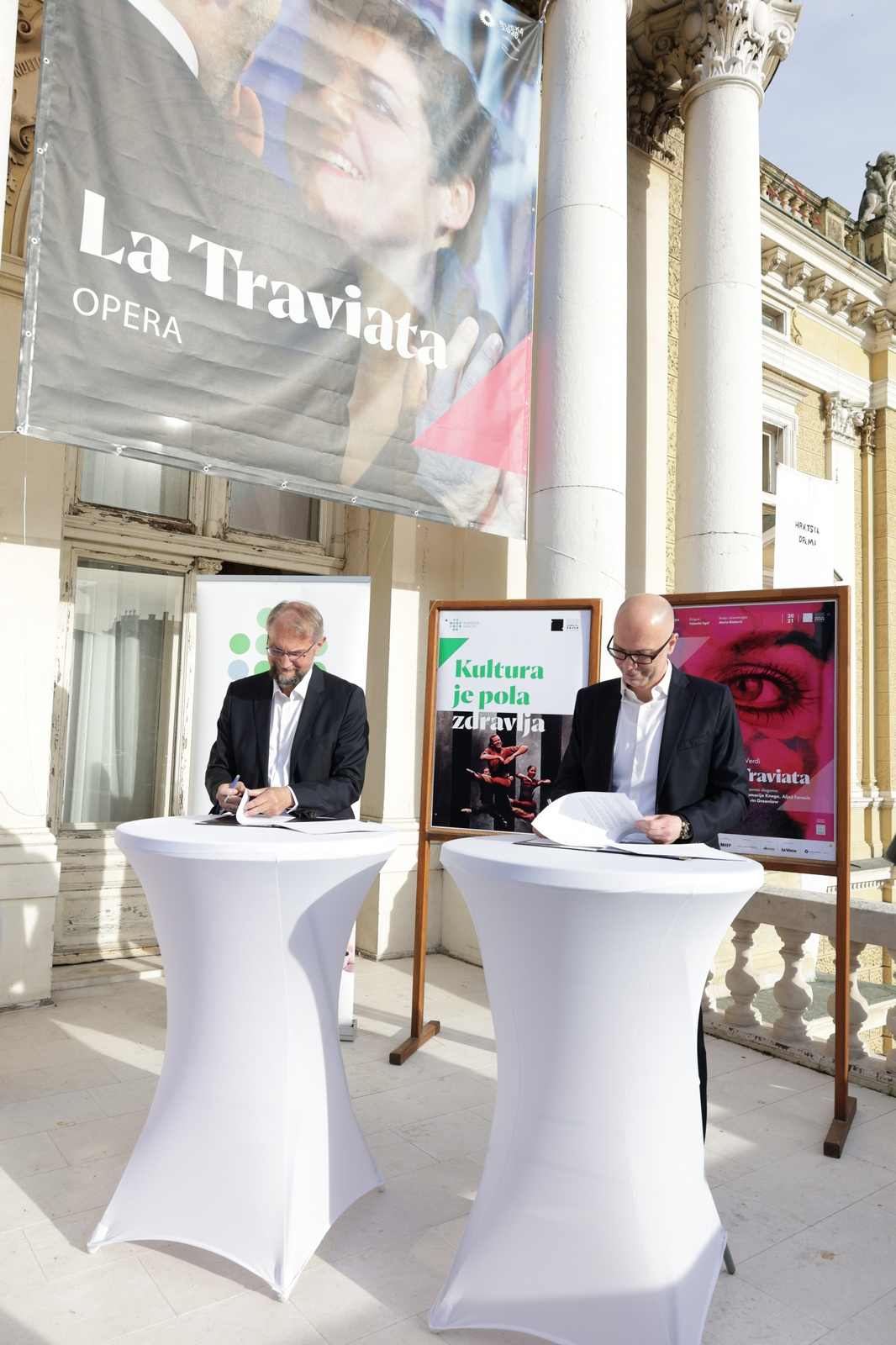 Potpisan ugovor o suradnji između HNK Ivana pl. Zajca i Klastera zdravstvenog turizma Kvarnera: Kultura je pola zdravlja