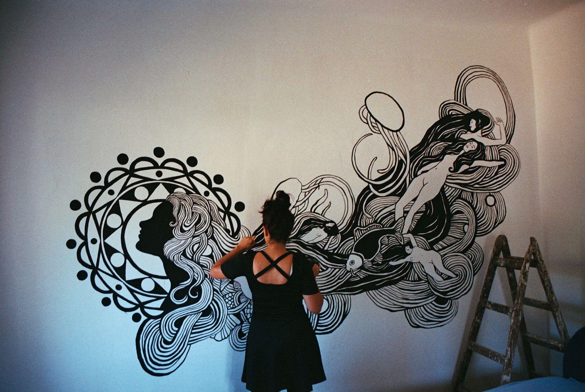Jadranka Lacković je Riječanka čiji murali krase naš grad, a odnedavno i centar Bruxellesa