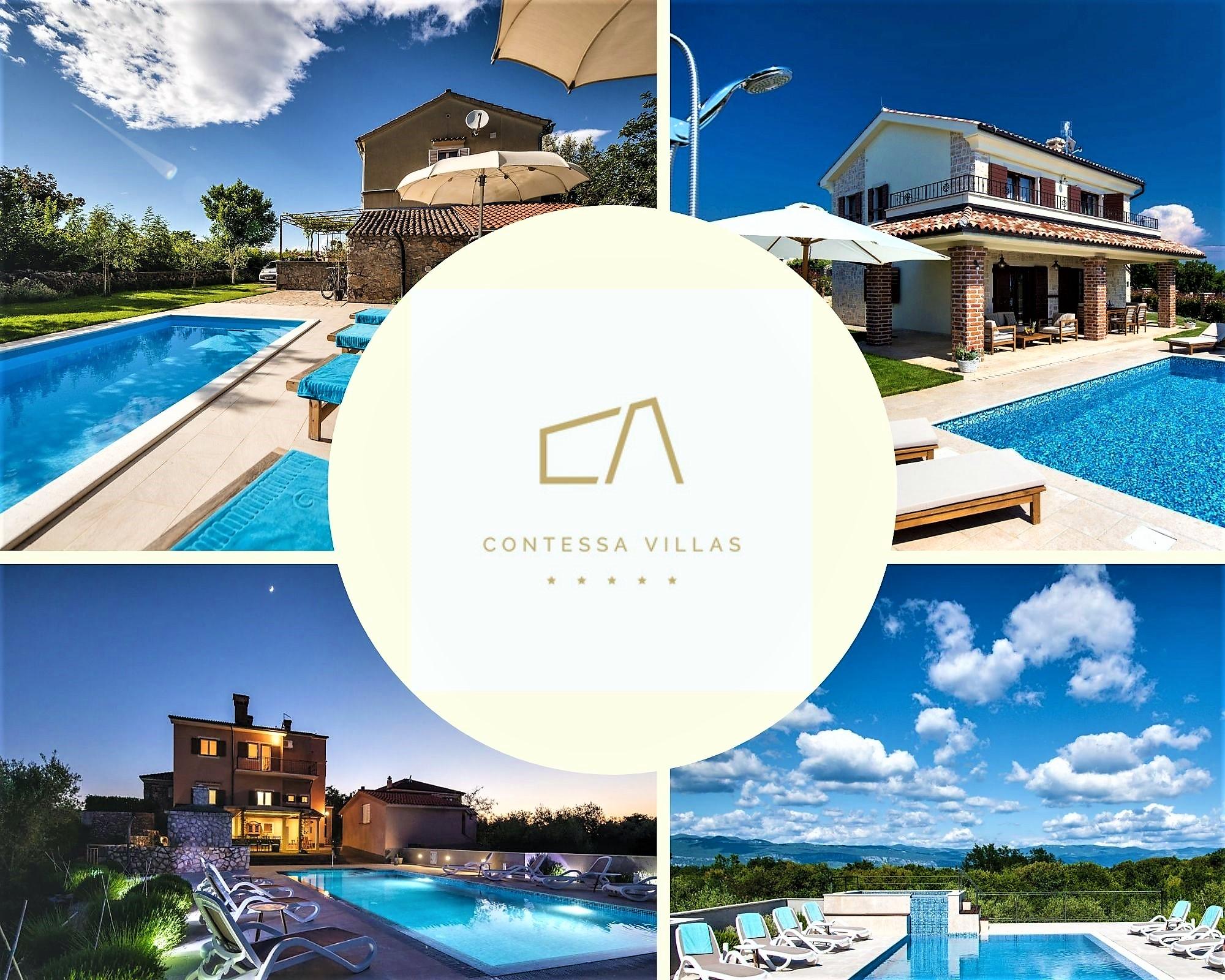 Ukoliko želite jedinstveni, potpuno drugačiji odmor uz more posjetite Contessa Villas