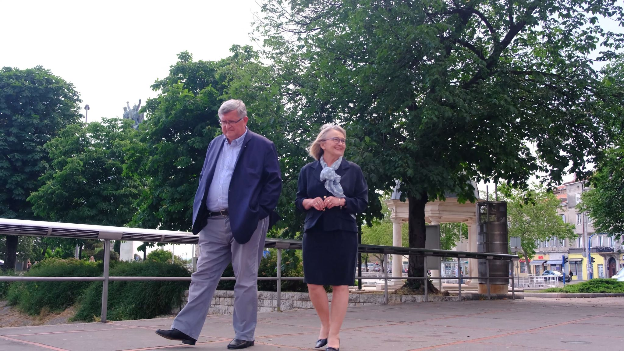Extravagant couple: Branka i Vojko Obersnel