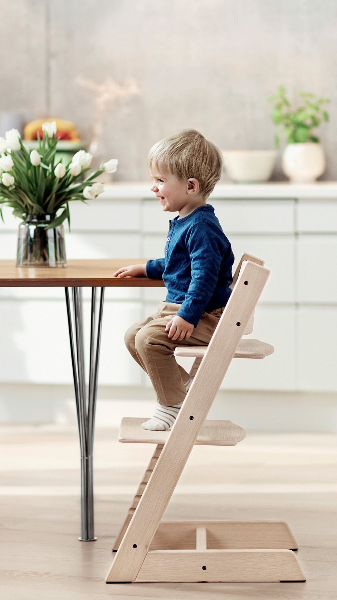 Najljepše uspomene stvaraju se od malena i to za obiteljskim stolom - Stokke Tripp Trapp