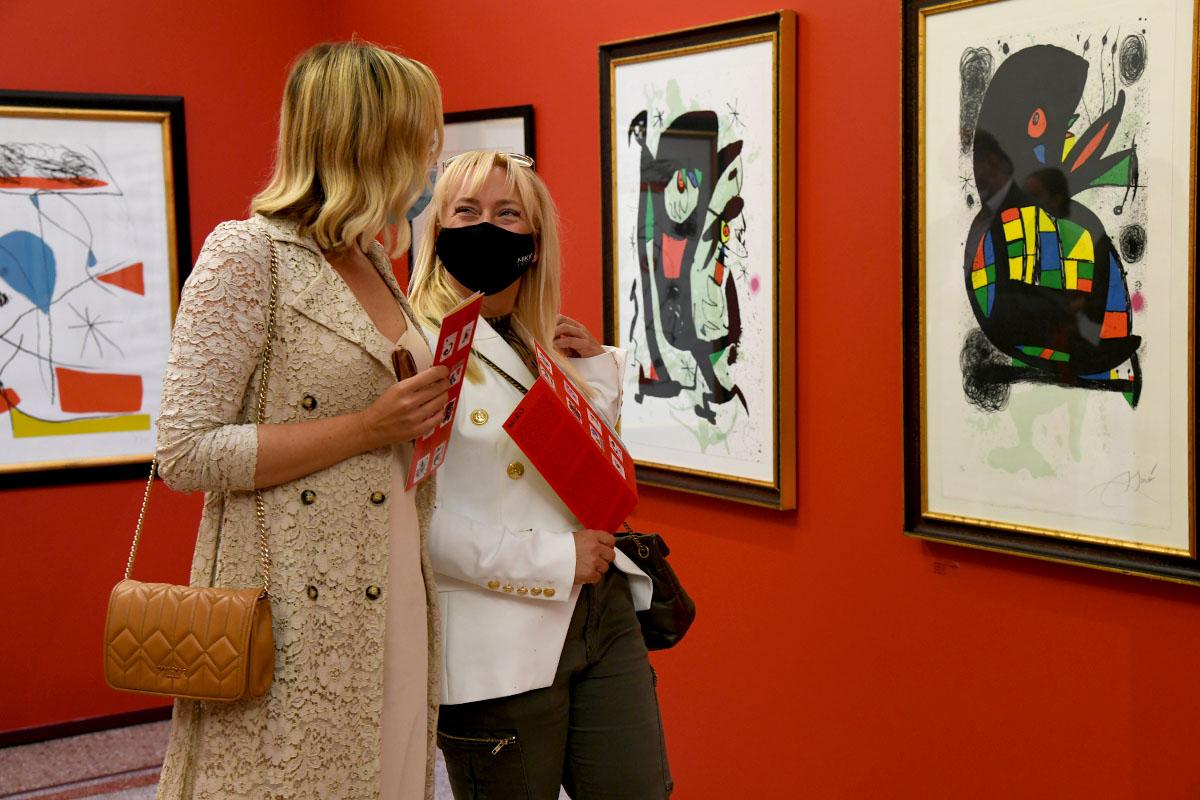 """Premijerno smo pogledali izložbu """"Picasso i Miró - prijateljstvo, sloboda"""" u Opatiji"""