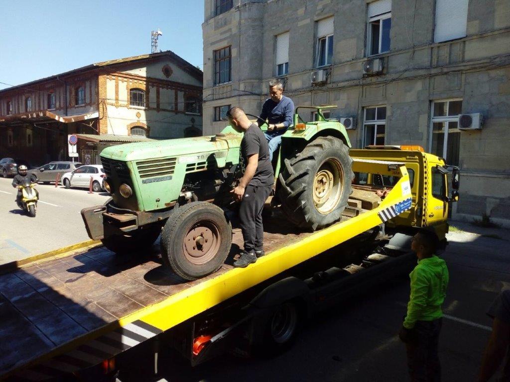 Torpedov traktor u zbirci Muzeja grada Rijeke
