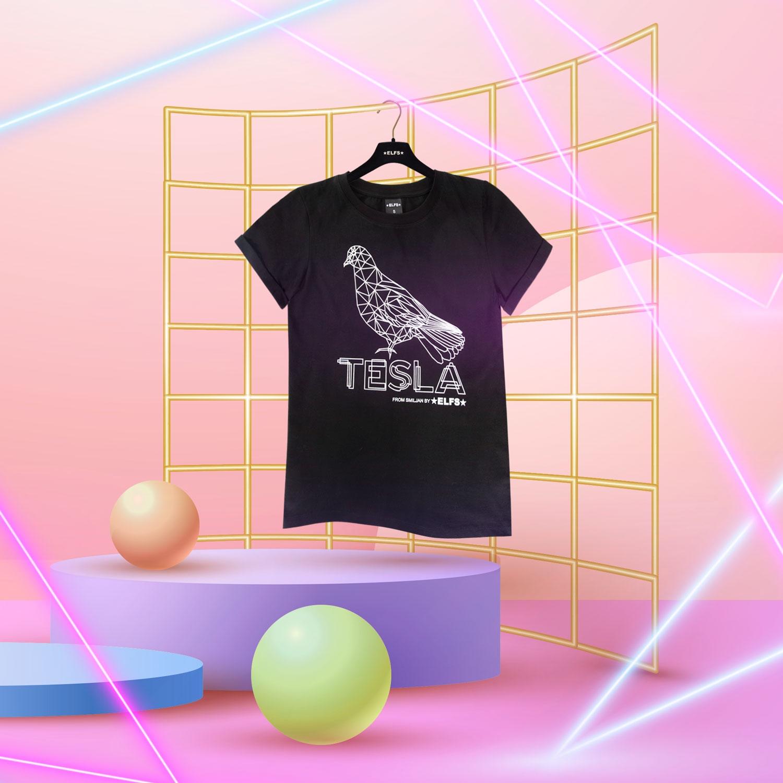 ELFS ima limitiranu kolekciju majica sa simbolima iz života Nikole Tesle
