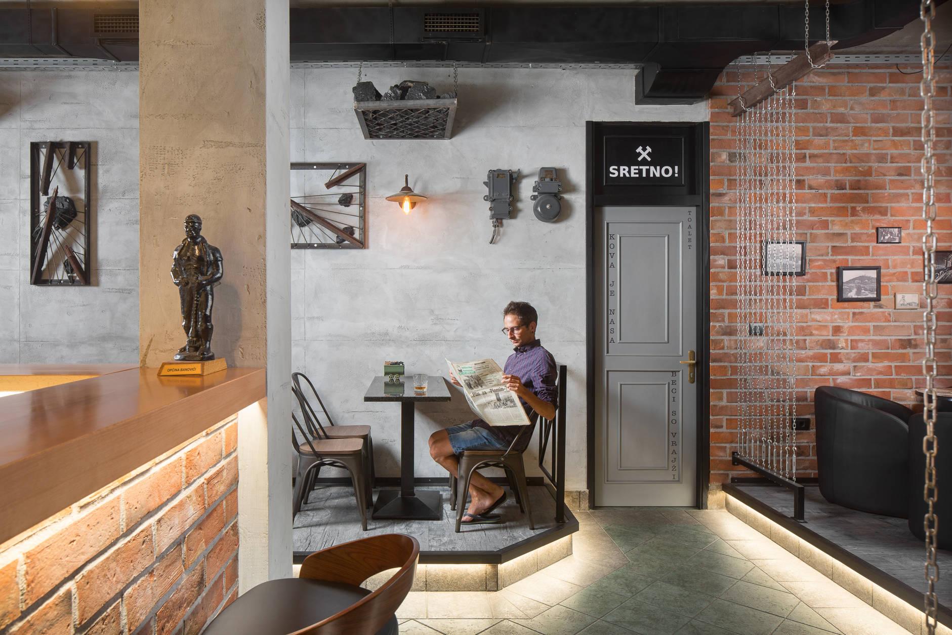 Otkrili smo lokal u Labinu koji krije zanimljivu priču gradske baštine; Caffe bar Karbon
