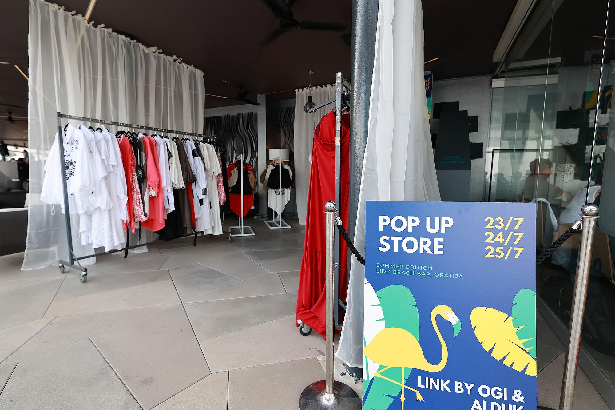 Jučer se otvorio LINK by Ogi i Alduk DESIGN POP UP STORE u Opatiji