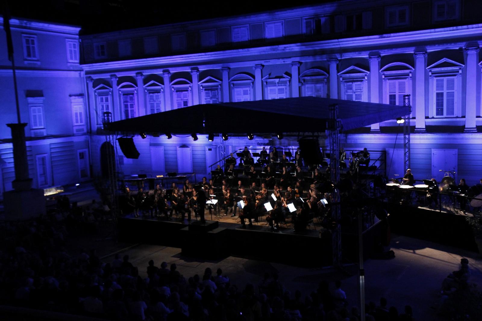 Festival Riječkog simfonijskog orkestra na Trgu Riječke rezolucije