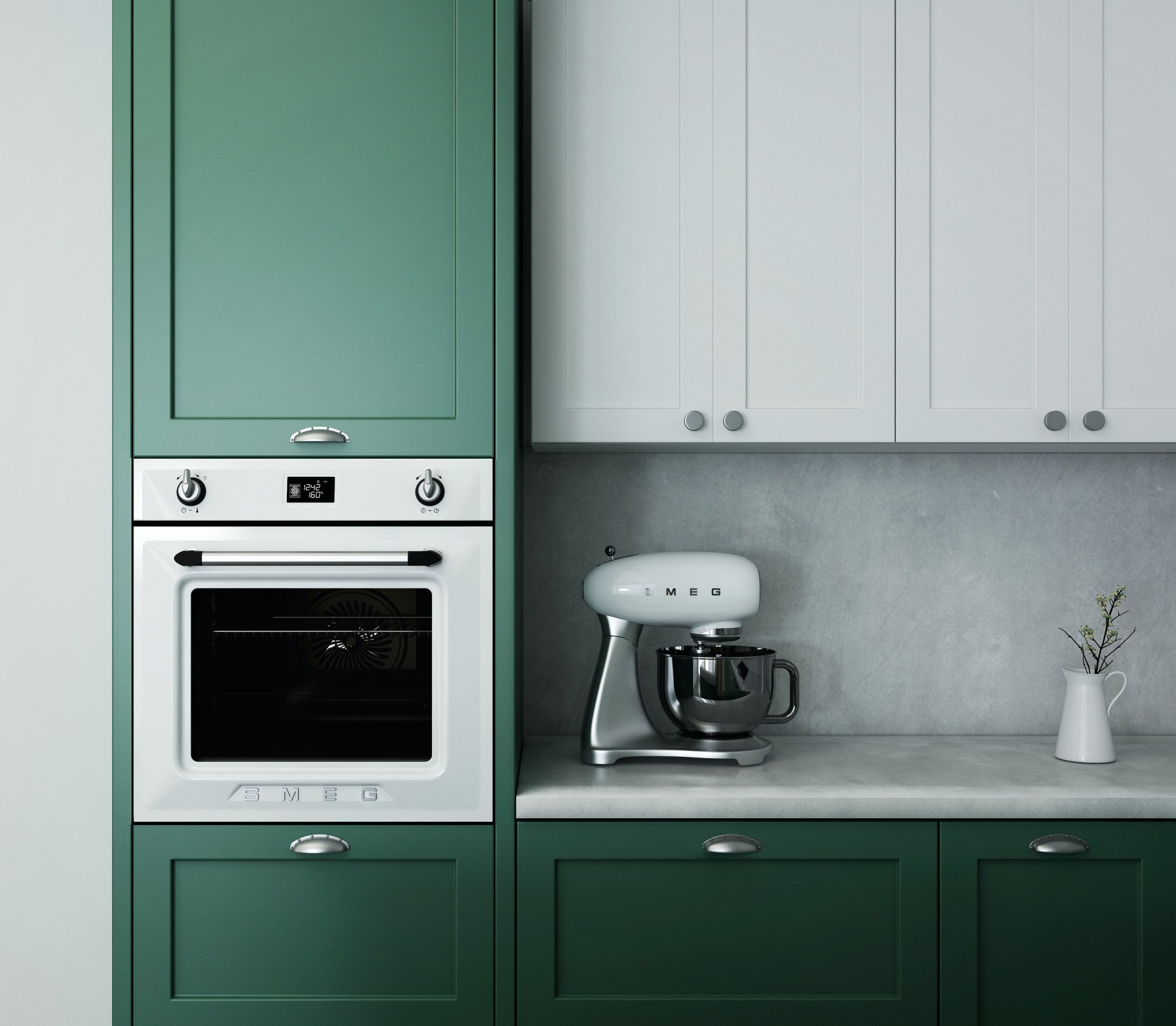 Studio Stanca nam otkriva trend u bojama za kuhinje za ovu godinu
