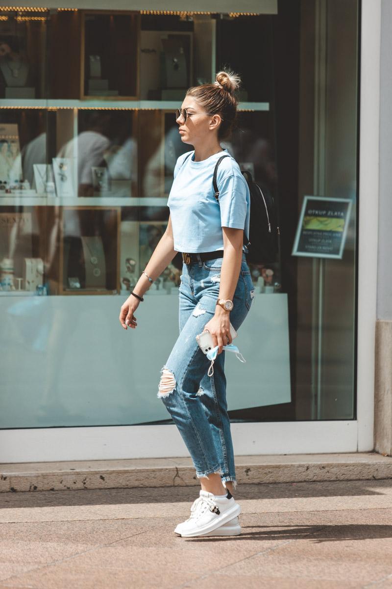 Extravagant streetstyle: kakav jeans vi volite?