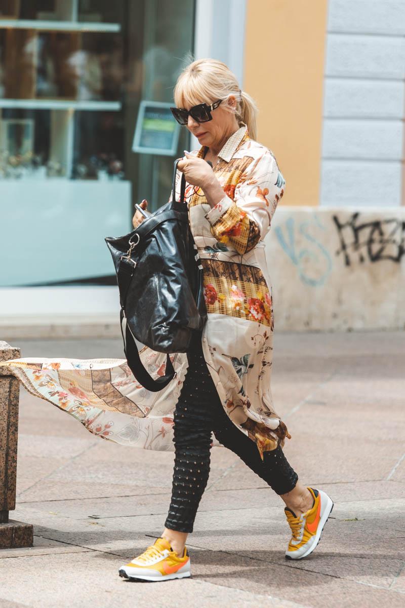 Extravagant streetstyle: košulja-haljina za sva godišnja doba