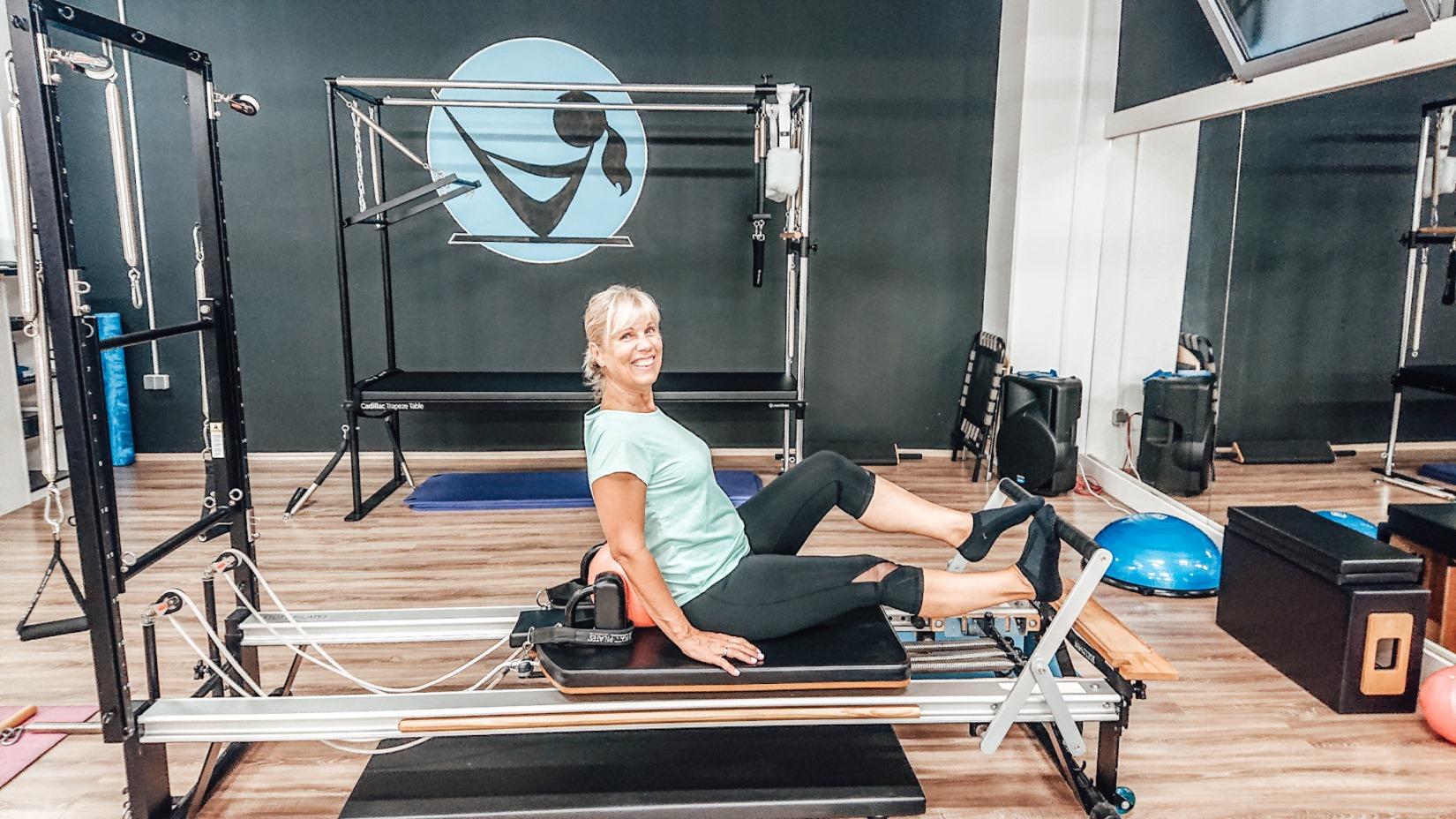 Vježbe na pilates spravama isprobale su mama i kćer Renata i Iva Škerl