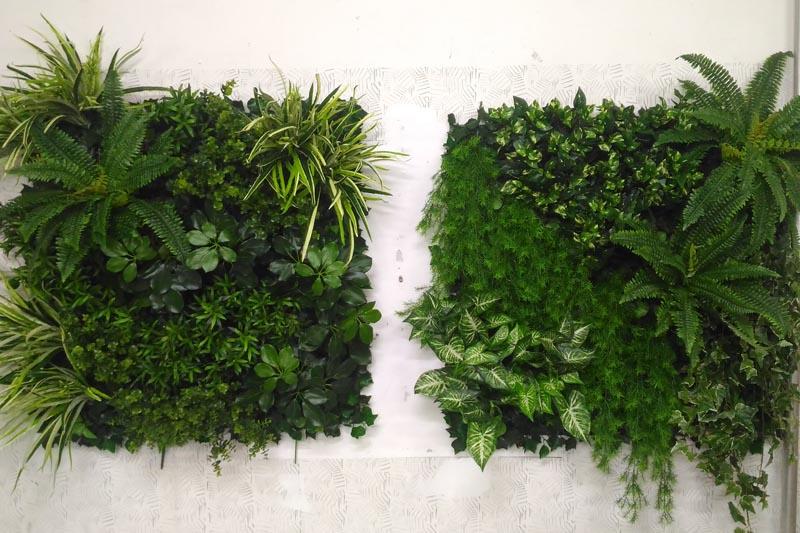 Efektan zeleni zid i šareni cvjetni aranžmani Vrtnog Centra Viškovo