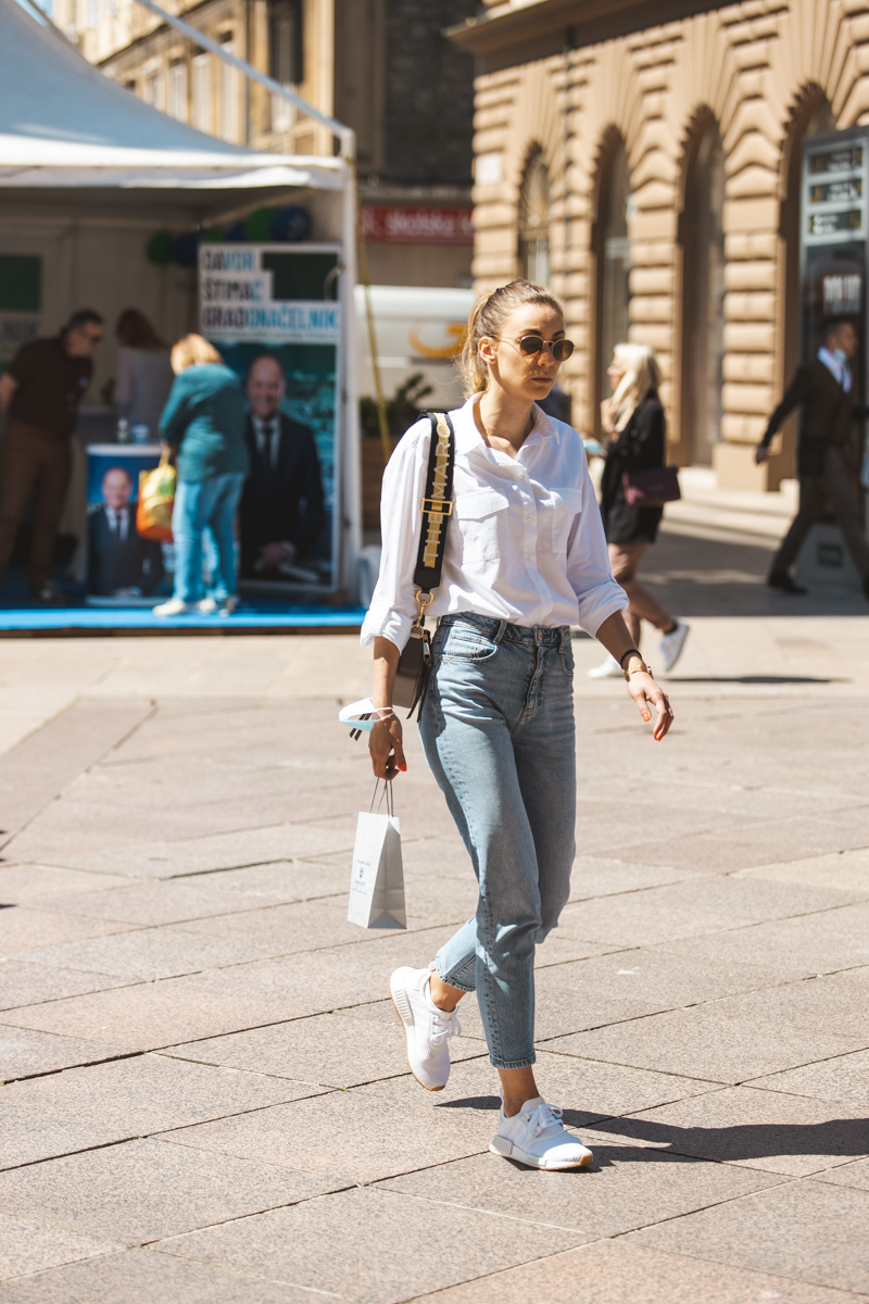 Extravagant streetstyle: basic outfit koji nikad ne dosadi