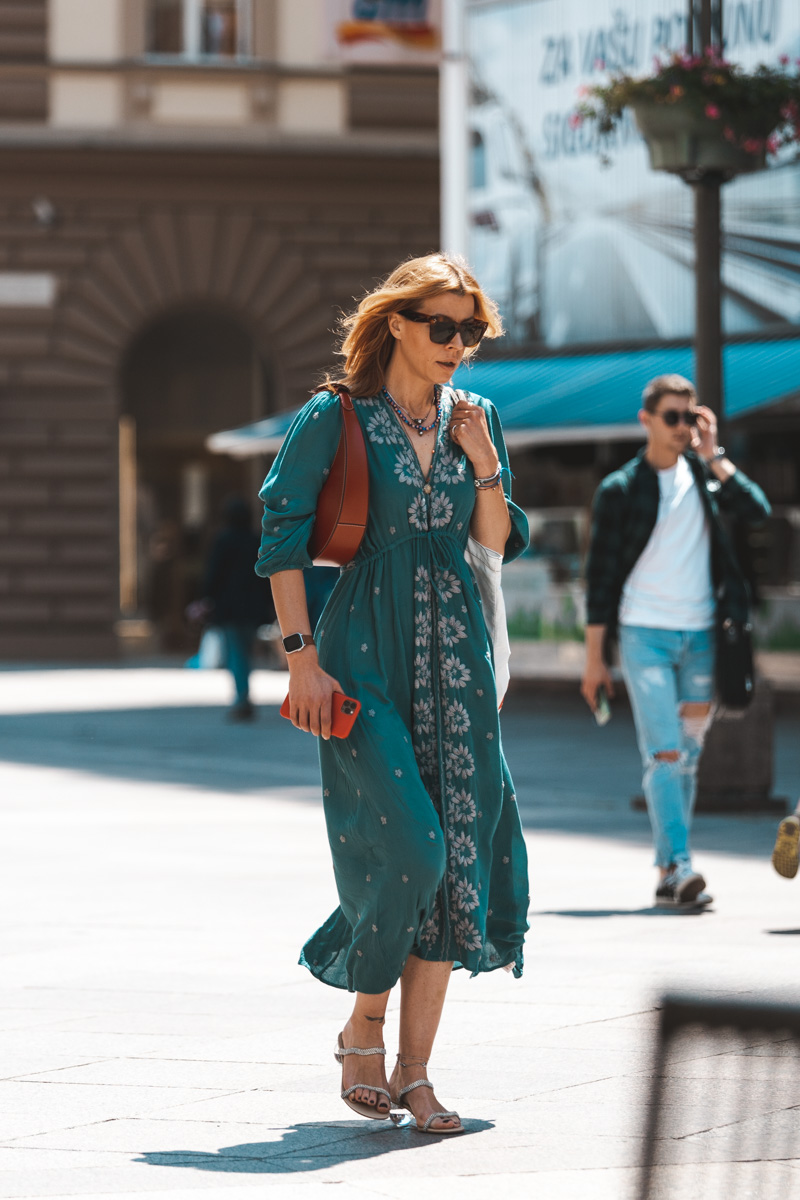 Extravagant streetstyle: haljine idealne za kasno ljeto