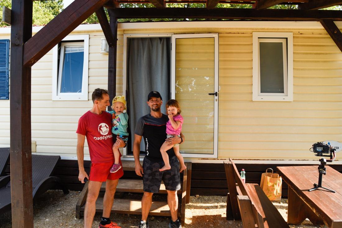 Kamp Glavotok je jedna od destinacija koja surađuje s organizacijom Daddyhood
