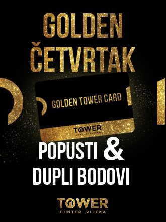 Golden četvrtak u Toweru donosi popuste, duple bodove i iznenađenja