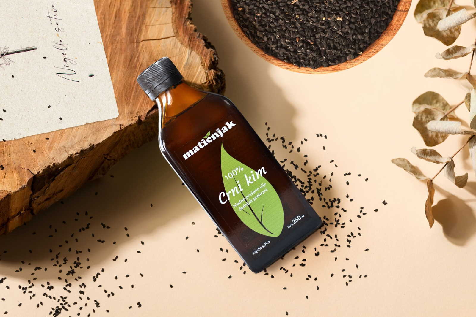 Najbolja prirodna prevencija protiv ambrozije - ulje crnog kima