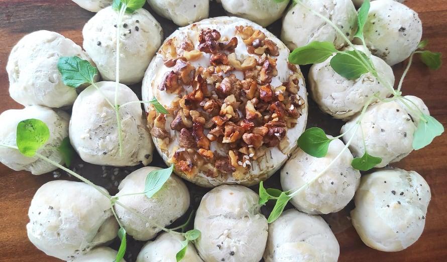 Extravagant chef: Zapečeni camembert s kruščićima