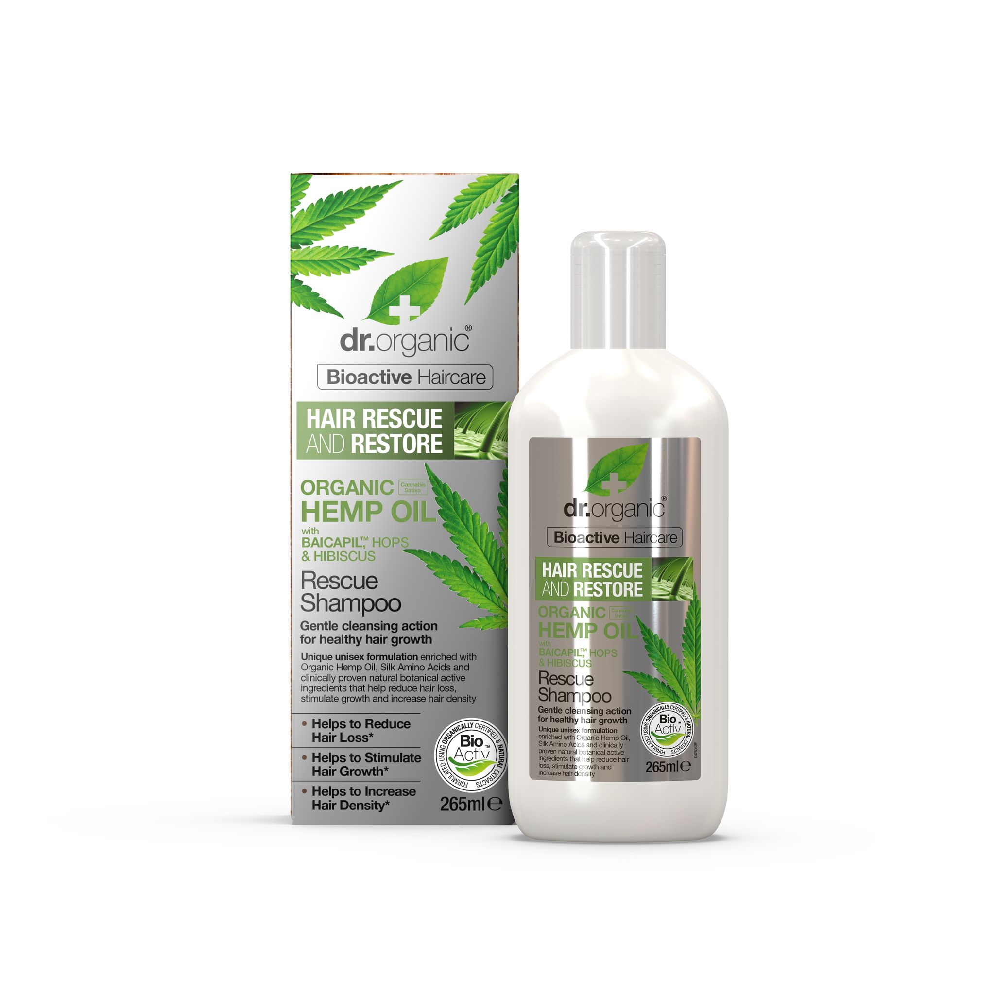 Imate problema s opadanjem kose? dr.Organic Hemp oil pruža rješenje!